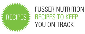 Heading for Fusser Fitness & Nutrition recipes.